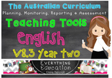 Australian Curriculum English YEAR 2 Monitoring and Planni