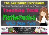 Australian Curriculum Mathematics v8.1 Year 2 Teacher Tools