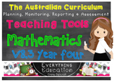 Australian Curriculum Mathematics YEAR 4 Monitoring and Pl