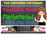 Australian Curriculum Mathematics YEAR 5 Monitoring and Pl