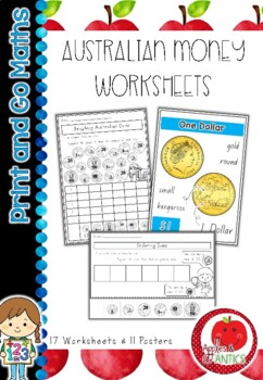 Australian Money Activity Worksheets