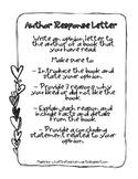 Author Response {Common Core Writing Activity}