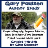 Author Study #2: Gary Paulsen w/ Reading/Writing Activitie