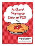 Authors' Purposes...Easy as PIE!