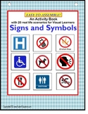 Autism Life Skills Learning Common Signs & Symbols {Specia