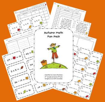 Autumn Math Fun Pack!