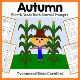Fall Math Journal Prompts (3rd and 4th grade)