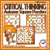 Autumn Square Puzzlers