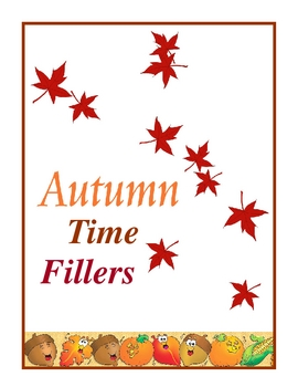 Autumn Time Fillers