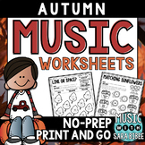 Autumn and Fall Music Activities- 68 Page Mega-Pack