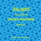 Stargirl Center Activities for Grades 4-7