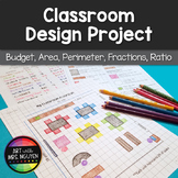 Awesome Classroom Design Project - Budget, Area, Perimeter