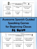 Awesome Spanish guided speaking games for beginning classes