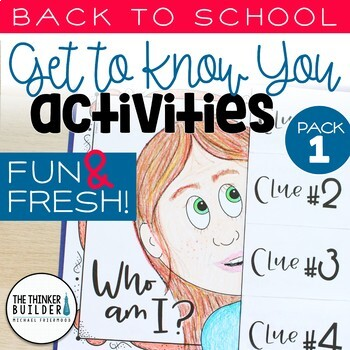"""Back-to-School """"Get To Know You"""" Activities: Fun & Fresh!"""