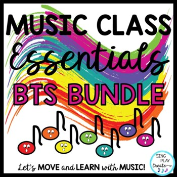 BACK TO SCHOOL Music Class *Songs*Chants*Games*Lesson Plan