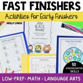 BAT Book for Kinders -50 Common Core Activities for Early