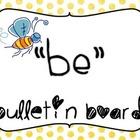 """BE"" Bulletin Board"
