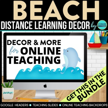 BEACH THEME BUNDLE-classroom theme {printables)