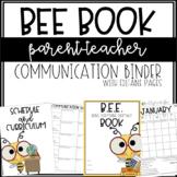 BEE Book Binder {editable}