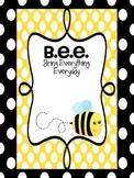 BEE binders and binder covers