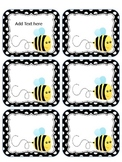 BEE labels editable