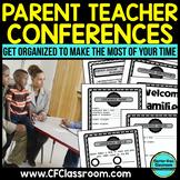 BLACKLINE DESIGN- PARENT TEACHER CONFERENCE PACKET {tips &