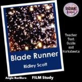 BLADE RUNNER Ridley Scott film Teacher Text Guides/Worksheets