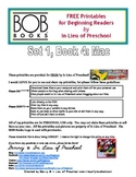 BOB Books Printables for Beginning Readers: Set 1, Book 4 Mac