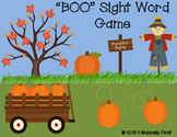"""""""BOO"""" First Grade Sight Word Game"""