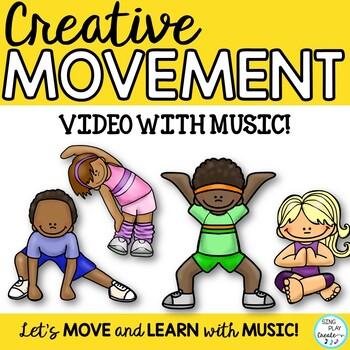 "BRAIN BREAK MOVEMENT ACTIVITY ""MOVE YOUR BODY"" MOVIE/VIDEO"