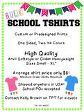 BULK School TShirts