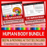 Human Body Coloring Book Series BUNDLE (Complete Science L