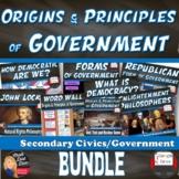 BUNDLE(1) Origins & Principles of Government (Civics)