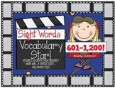 BUNDLED Sight Word Vocabulary Star: The Last 600 Words