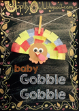 Baby Gobble Gobble - Turkey Craft Kit