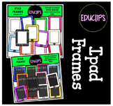 FREE - Ipad Frames Clip Art Bundle