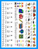 Back To School Desk Name Plates-Fold-Tri Fold-Print Clearl