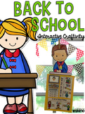 Back To School - Interactive Craftivity