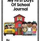 Back To School Journal -  Pre K, Kindergarten or Grade One