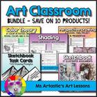 Back To School - Middle School Visual Art Bundle!