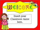 Open House Super Hero Themed Powerpoint Template