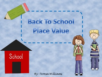 Back To School Place Value