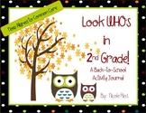 Back to School - 2nd Grade Activity Journal