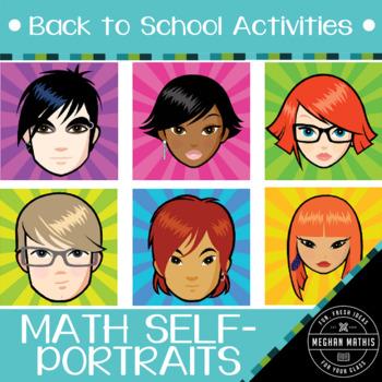 Back to School Activities - Math Self-Portrait