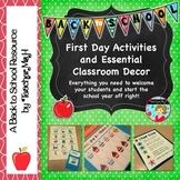 Back to School Activities and Teacher Resource Bundle