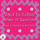 Back to School Activity
