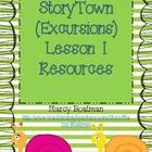 Storytown (Excursions) Grade 1 Lesson 1 Freebie Unit