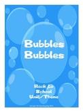 Back to School Bubble Unit