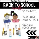 Back to School Craftivity
