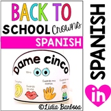 SPANISH Back to School Crowns